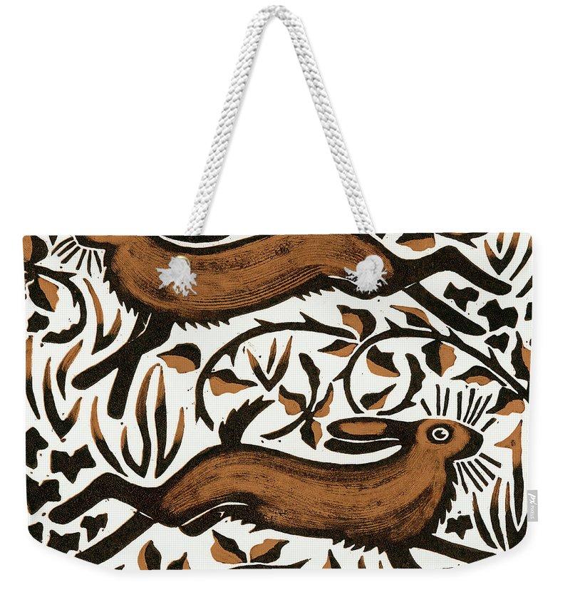 Woodland Animals Weekender Tote Bags