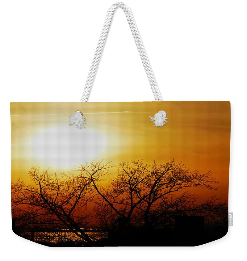 Landscape Weekender Tote Bag featuring the photograph Branches by Kendall Eutemey