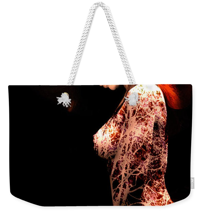 Clay Weekender Tote Bag featuring the photograph Branching Out by Clayton Bruster