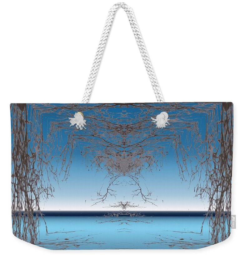Branches Weekender Tote Bag featuring the photograph Branching Outward by Tim Allen