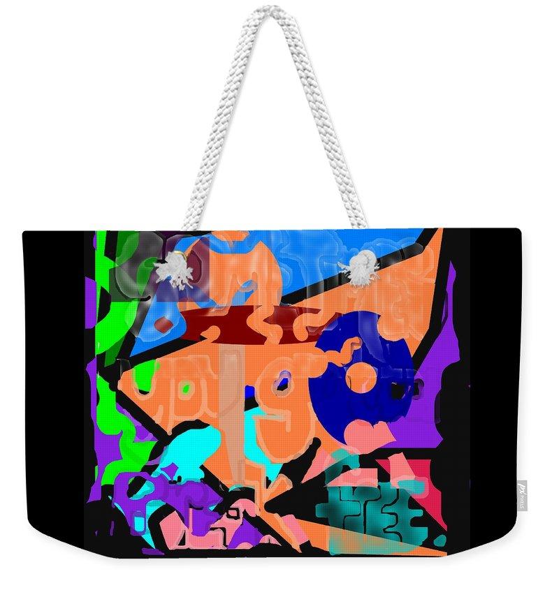Free Weekender Tote Bag featuring the digital art Break Free by Pharris Art