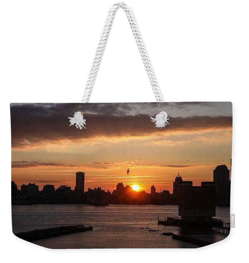Dawn Weekender Tote Bag featuring the photograph Break Of Dawn by Vartika Singh