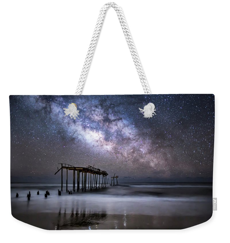 Milky Way Weekender Tote Bag featuring the photograph Breaking Away by Jay Wickens