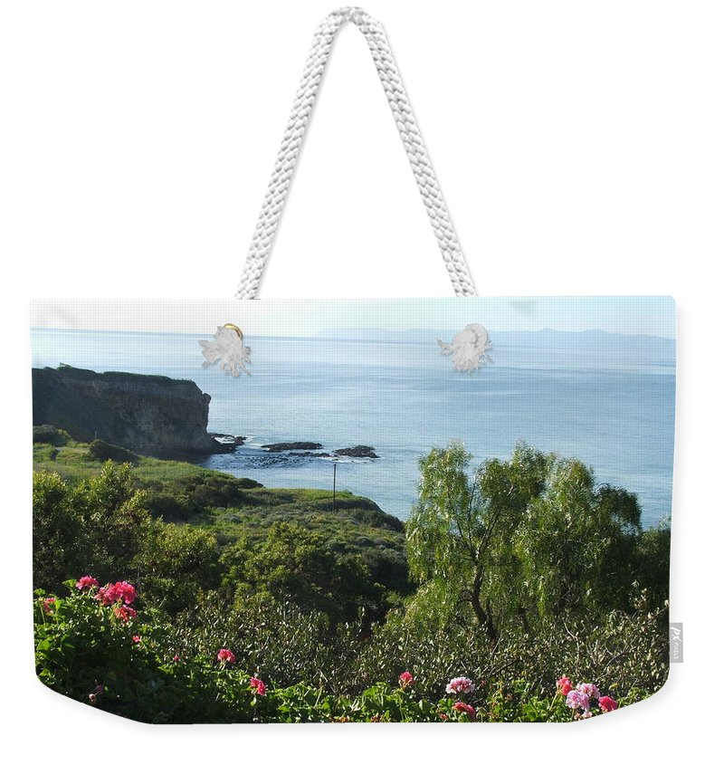 Landscape Weekender Tote Bag featuring the photograph Breath Of Fresh Air by Shari Chavira