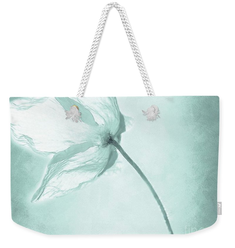 Flower Weekender Tote Bag featuring the painting Breeze by Jacky Gerritsen