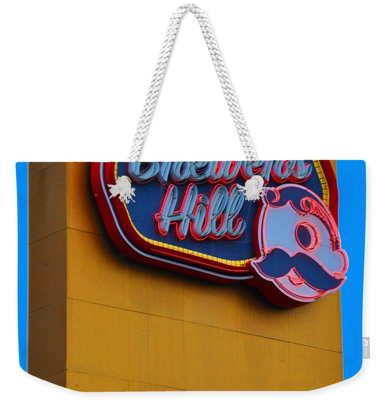 Gunther Weekender Tote Bag featuring the photograph Brewers Hill Retro by Jost Houk