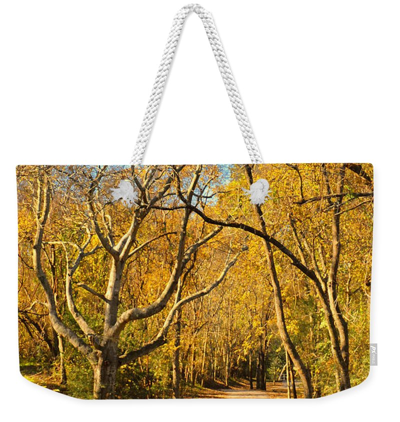 Trail Weekender Tote Bag featuring the photograph Bridge Of Sighs by Stephen Anderson