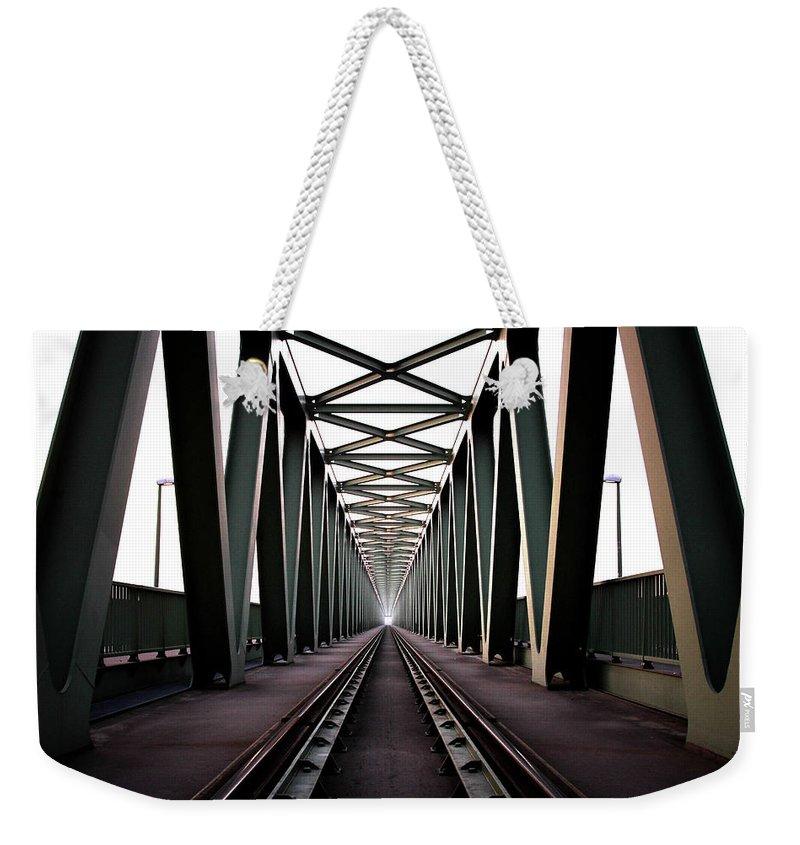 Bridge Weekender Tote Bag featuring the photograph Bridge by Zoltan Toth