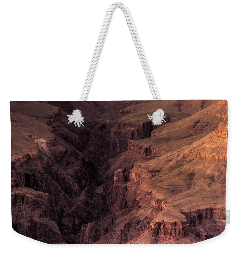 Arizona Weekender Tote Bag featuring the photograph Bright Angel Canyon Grand Canyon National Park by Steve Gadomski