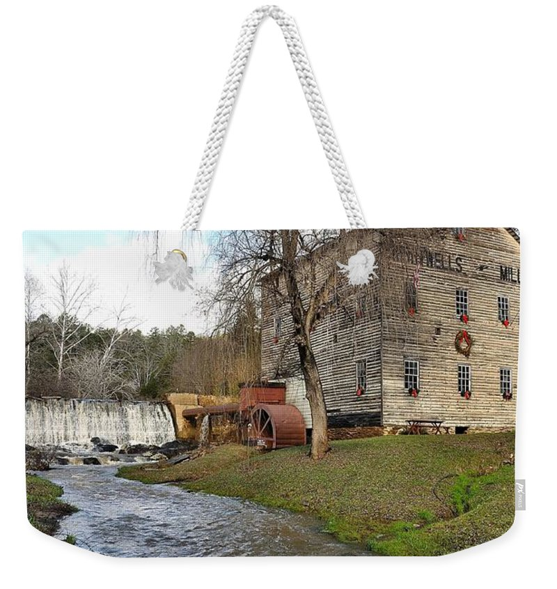 Brightwell's Mill Weekender Tote Bag featuring the photograph Brightwell's Mill 3 by Todd Hostetter