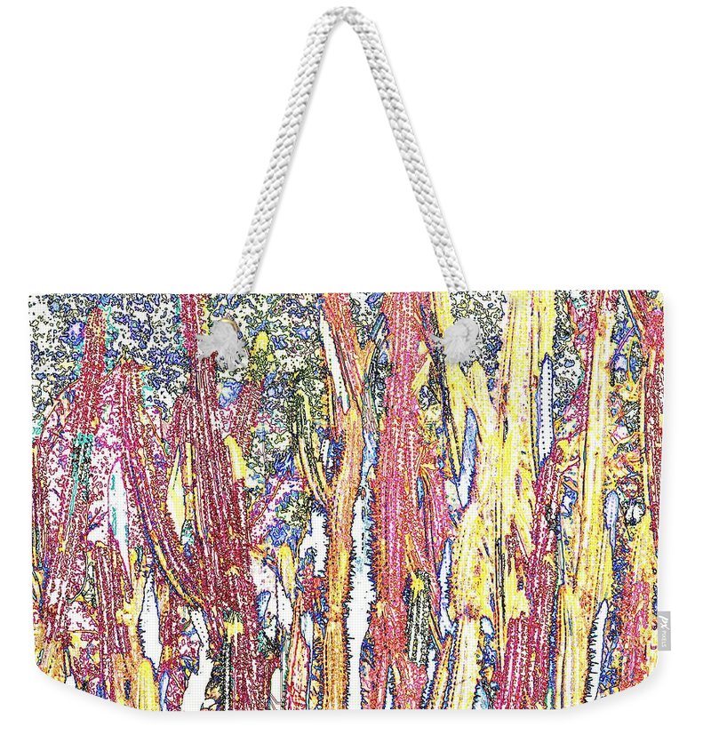 Forest Weekender Tote Bag featuring the photograph Brimstone Forest by Ian MacDonald