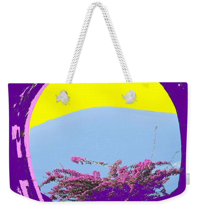 Brimstone Weekender Tote Bag featuring the photograph Brimstone Gate by Ian MacDonald