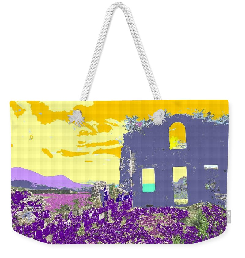 Brimstone Weekender Tote Bag featuring the photograph Brimstone Sunset by Ian MacDonald