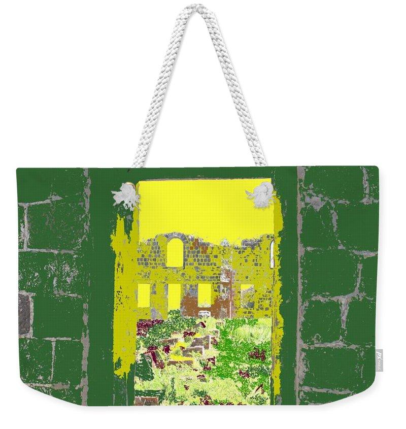 Brimstone Weekender Tote Bag featuring the photograph Brimstone Window by Ian MacDonald