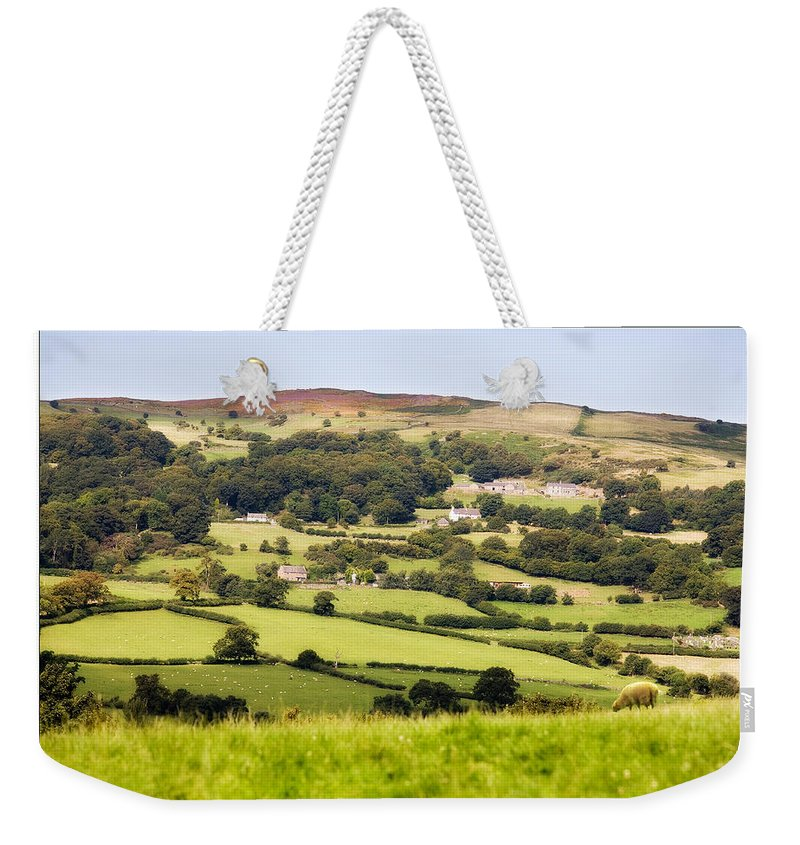 Landscape Weekender Tote Bag featuring the photograph British Landscape by Mal Bray