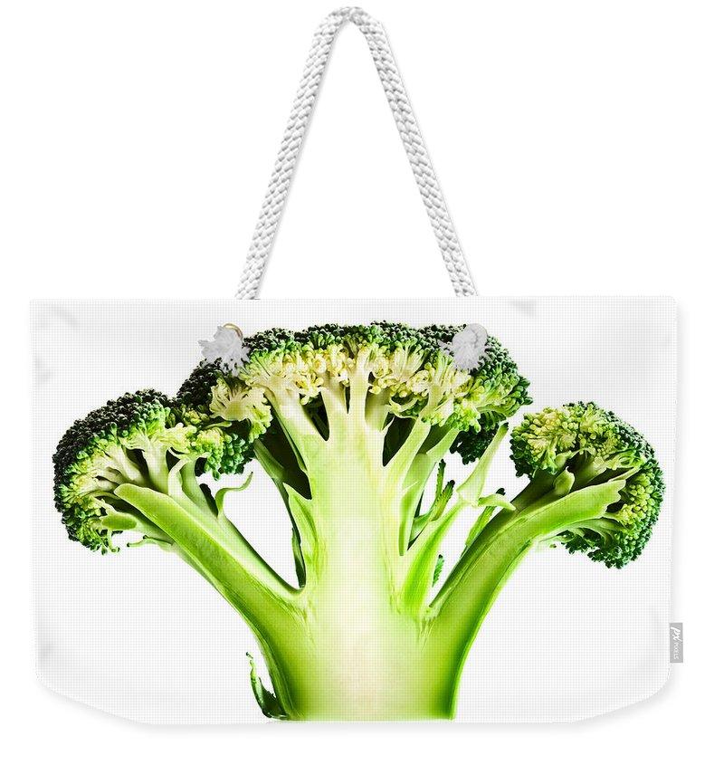 Broccoli Weekender Tote Bags