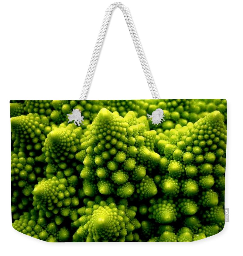 Broccoli Weekender Tote Bag featuring the photograph Broccoli by Dragica Micki Fortuna