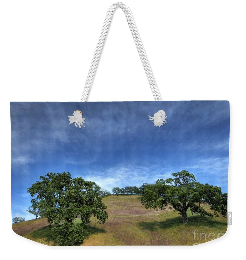 California Scenes Weekender Tote Bag featuring the photograph Broccoli Trees by Norman Andrus