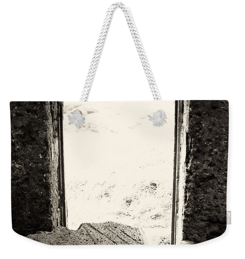 Azores Weekender Tote Bag featuring the photograph Broken Millstone by Gaspar Avila