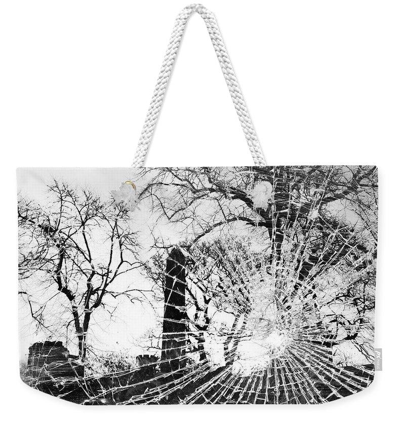 Tree Weekender Tote Bag featuring the photograph Broken Trees by Munir Alawi