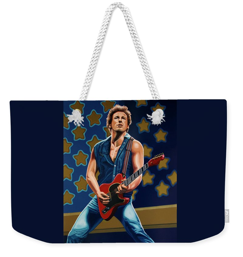 Bruce Springsteen And The E Street Band Weekender Tote Bags