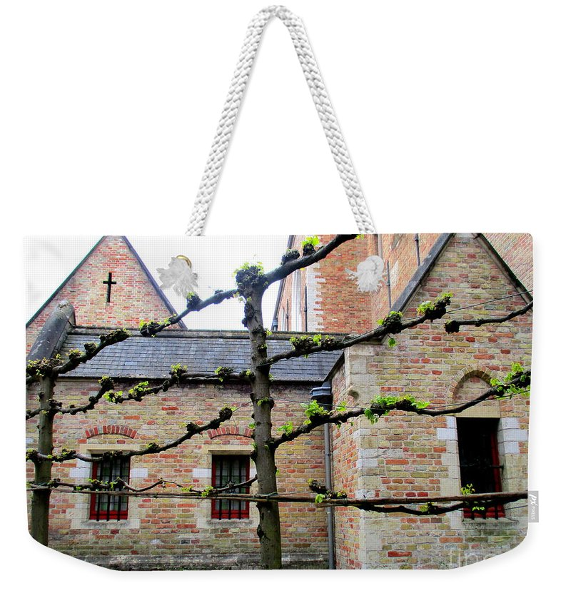 Bruges Weekender Tote Bag featuring the photograph Bruges 13 by Randall Weidner