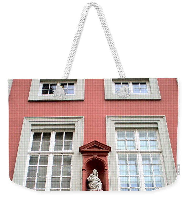 Bruges Weekender Tote Bag featuring the photograph Bruges 14 by Randall Weidner