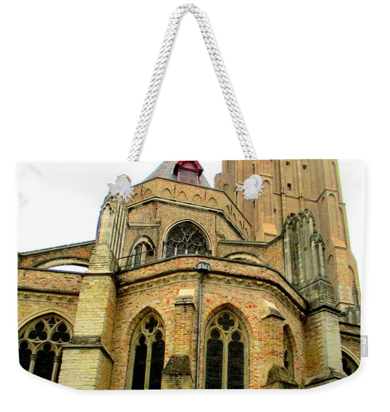 Bruges Weekender Tote Bag featuring the photograph Bruges 15 by Randall Weidner