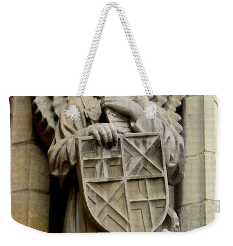 Bruges Weekender Tote Bag featuring the photograph Bruges Detail 7 by Randall Weidner