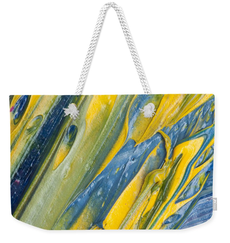 Art Weekender Tote Bag featuring the photograph Brush Stroke Detail 8066 by Bob Neiman