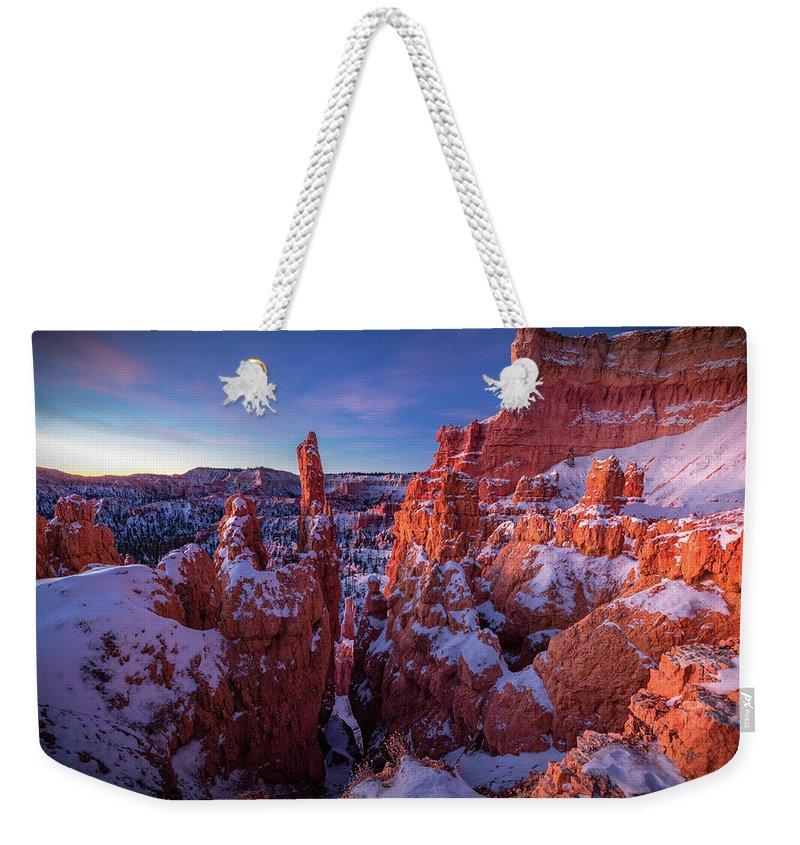 Bald Mountain Weekender Tote Bags