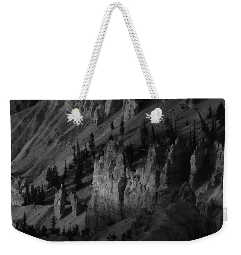 Adventure Weekender Tote Bag featuring the photograph Brycecanyon 10 by Ingrid Smith-Johnsen