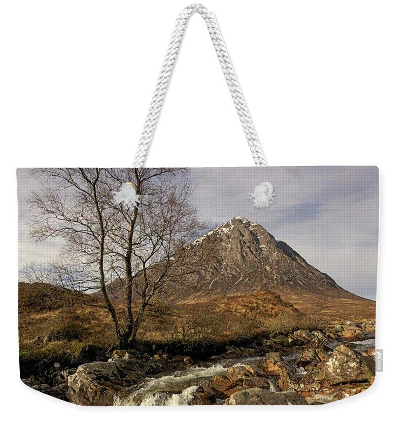 Buachaille Etive Mor Weekender Tote Bag featuring the photograph Buachaille Etive Mor by Colette Panaioti