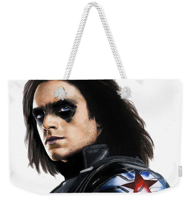 Bucky Barnes Fanart Weekender Tote Bag