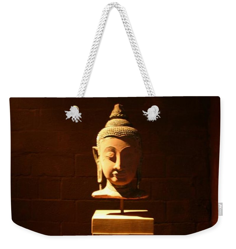 Buddhism Weekender Tote Bag featuring the photograph Buddhism In Belgium by Minaz Jantz