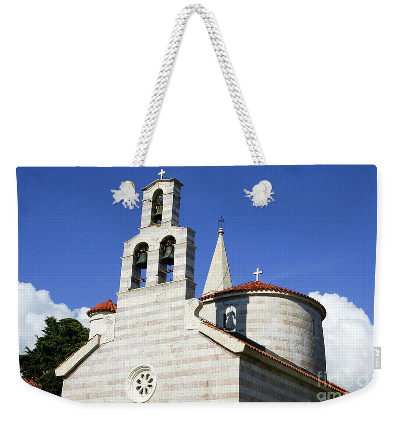 Travel Weekender Tote Bag featuring the photograph Budva, Montenegro by Ruth Hofshi