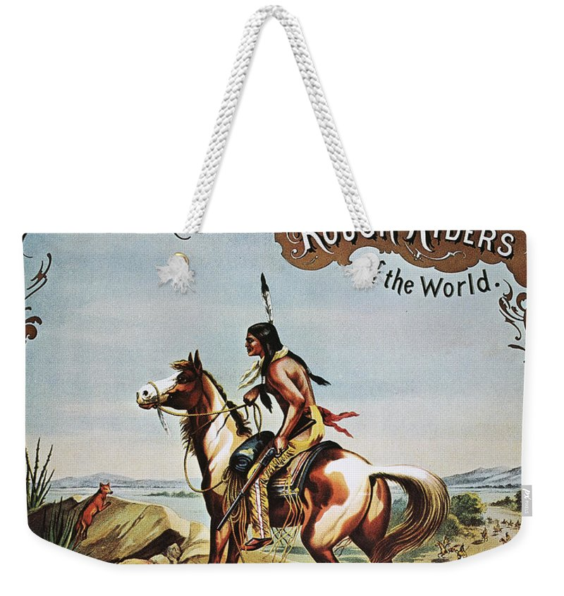 19th Century Weekender Tote Bag featuring the photograph Buffalo Bills Show Poster by Granger