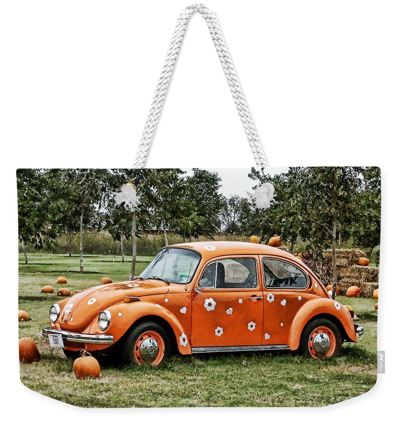 Bug Weekender Tote Bag featuring the photograph Bugs In The Patch Again by Scott Wyatt