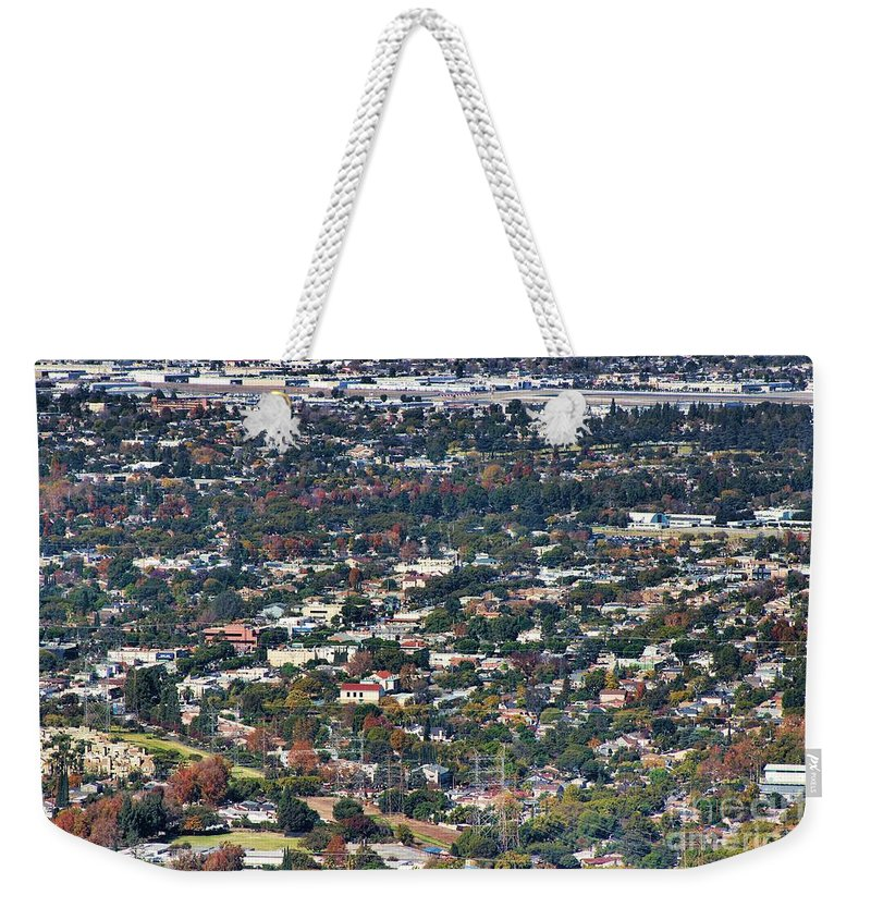 Coast Weekender Tote Bag featuring the photograph Burbank Ca by RJ Aguilar