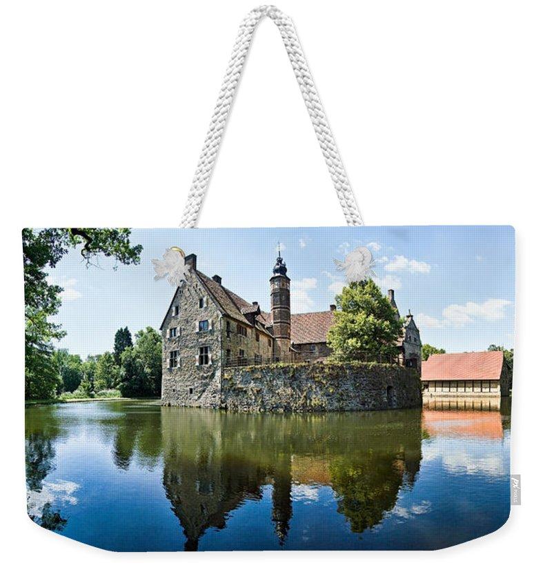 Burg Vischering Weekender Tote Bag featuring the photograph Burg Vischering by Dave Bowman