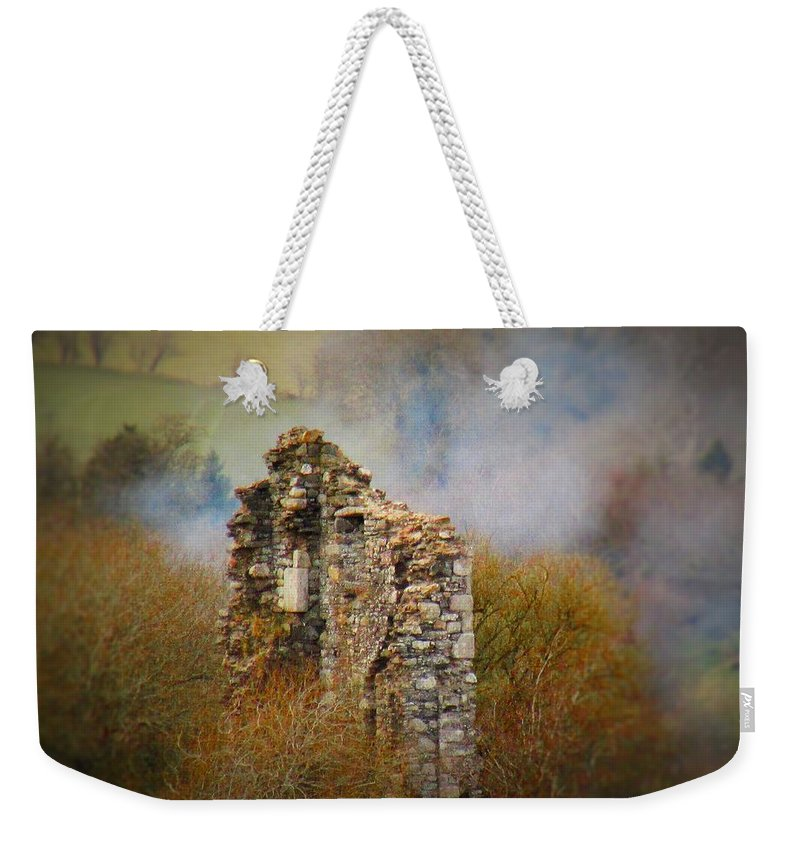 Ruins Weekender Tote Bag featuring the photograph Burgage Castle by Paula O'Sullivan