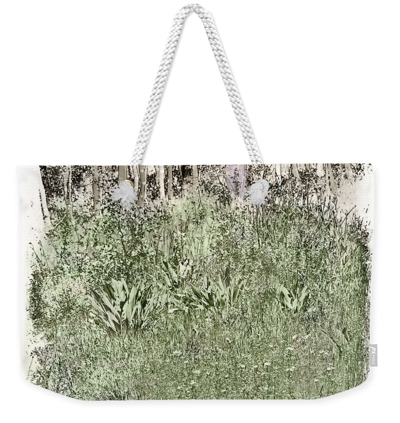 Burial Weekender Tote Bag featuring the photograph Burial Ground by Madeline Ellis