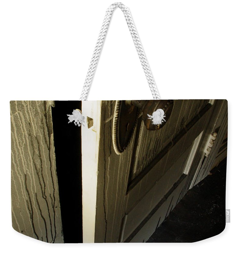 Ghostly Weekender Tote Bag featuring the photograph Burned Knob 02 by Peter Piatt