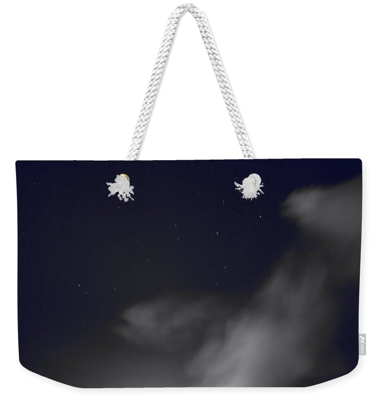 Kilauea Caldera Weekender Tote Bag featuring the photograph Burning In My Heart by Laurie Search