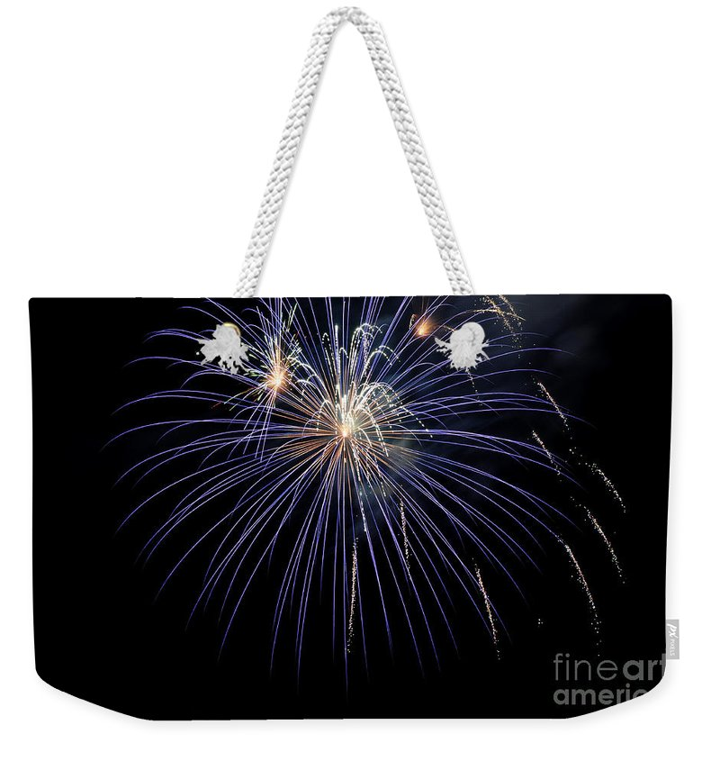 Clay Weekender Tote Bag featuring the photograph Burst by Clayton Bruster