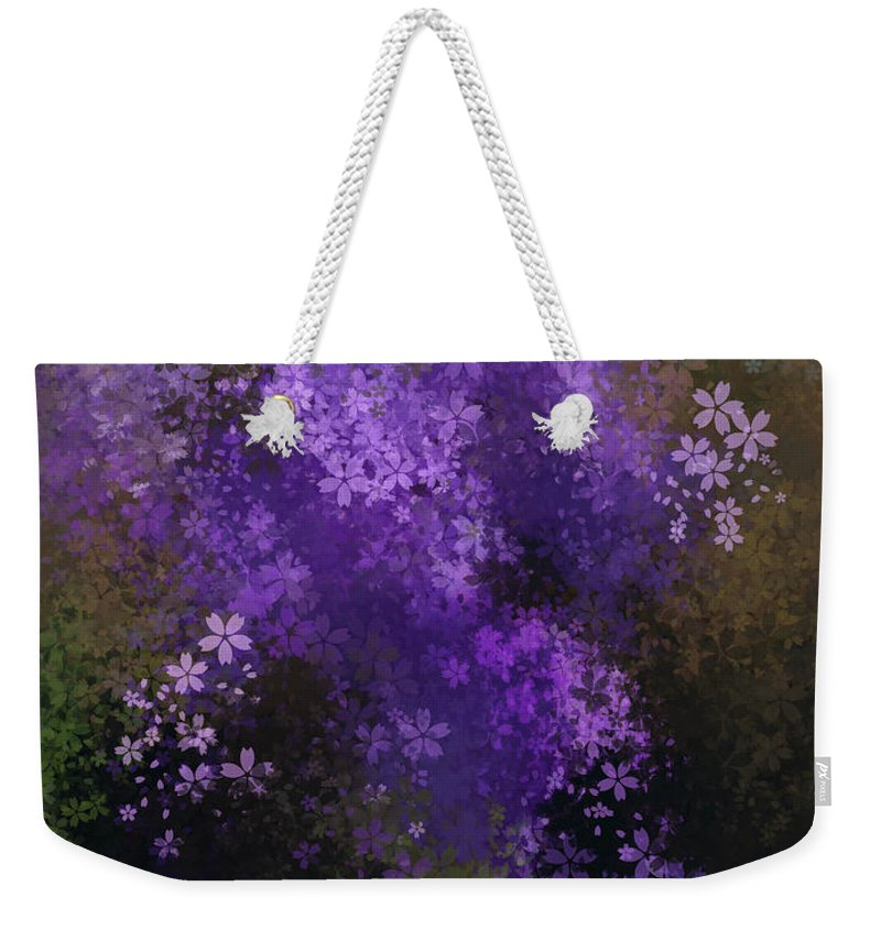 Featured Weekender Tote Bag featuring the photograph Bursting Blooms by Jenny Revitz Soper