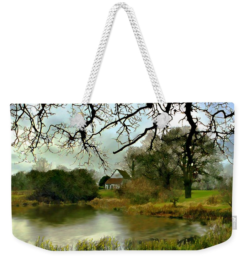 England Weekender Tote Bag featuring the photograph Butlers Retreat Epping Forest Uk by Kurt Van Wagner