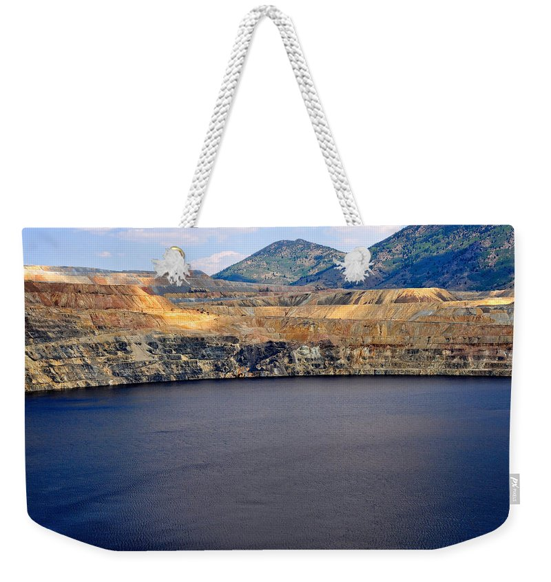 Butte Weekender Tote Bag featuring the photograph Butte Montana - Lake Berkeley by Image Takers Photography LLC - Laura Morgan