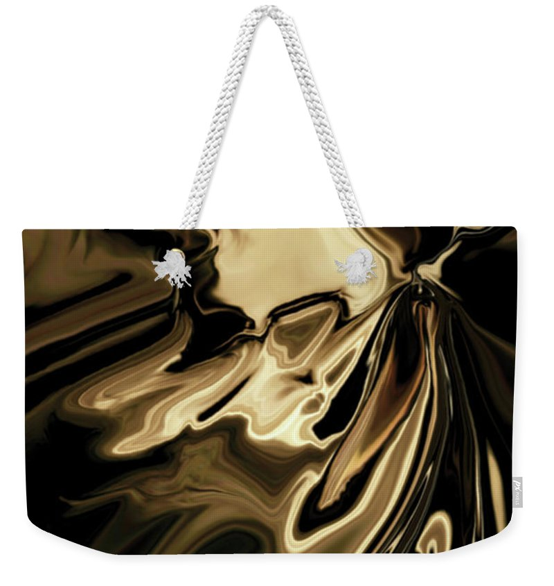 Butterfly Weekender Tote Bag featuring the digital art Butterfly 2 by Rabi Khan