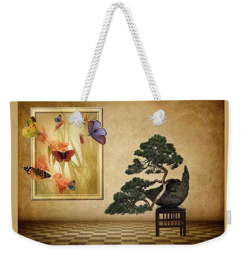 Fantasy Weekender Tote Bag featuring the photograph Butterfly Collection by Jessica Jenney